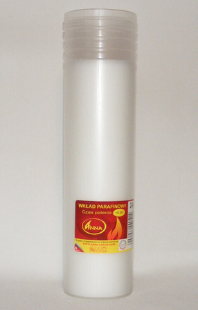 Wkład parafinowy (tuba 24)– wys. 22 cm (1)