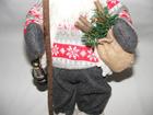 Mikołaj 50 cm - urokliwy Mikołaj w białej kamizelce (3)