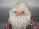 Mikołaj 50 cm - urokliwy Mikołaj w białej kamizelce (2)