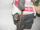 Mikołaj 50 cm - urokliwy Mikołaj w białej kamizelce (4)
