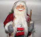 Mikołaj czerwony 50 cm - Mikołaj w klasycznym ale jakże pięknym  stroju (2)