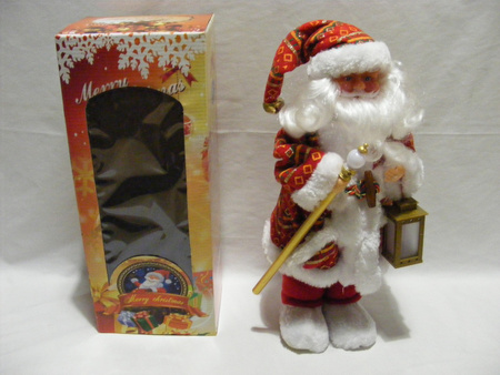 Mikołaj 40 cm - Mikołaj w biało - czerwonych kolorach (1)