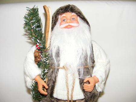 Mikołaj 32 cm brązowy (1)