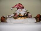 Mikołaj szpagat - siedzący Mikołaj (1)