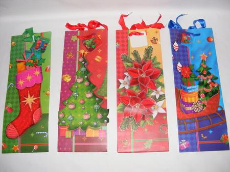 Torebka świąteczna (9748 (1)- kpl. 6 sztuk) (1)