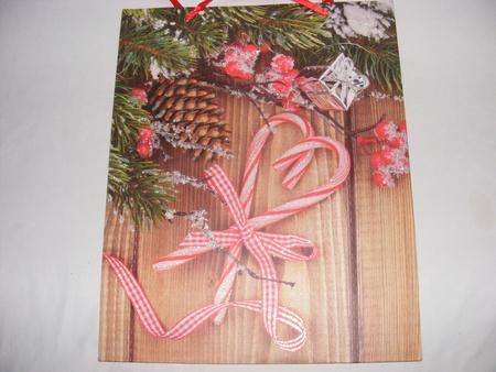 Torebka świąteczna ( 9786 (1) - kpl. 6 sztuk) (1)