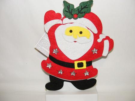Dekoracja Mikołaj filcowy (1)