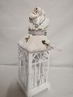 Lampion metalowy z Mikołajem lub aniołkiem (3)