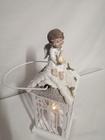 Lampion metalowy z Mikołajem lub aniołkiem (7)