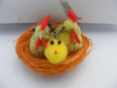 Dekoracja potrójna kura (1)