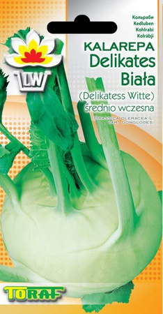 Kalarepa Del. Witte [2g] średnio wczesna (1)