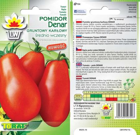 Pomidor Denar [0,5g] - średnio wczesny (1)