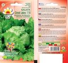 Sałata Great Lakes 118 [2g] -krucha,średnio późna (2)