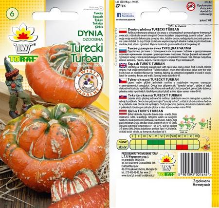 Dynia ozdobna Turecki Turban [2g] (1)