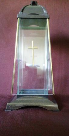 Znicz Glass Art. 2 – znicz z kolekcji kapliczek . (1)